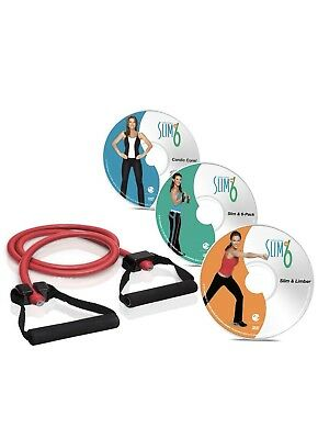 Debbie Siebers Slim In 3 DVD (With Resistance Exercise Bands With Handles)