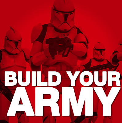 Star Wars  - Stormtroopers and Clone Troopers  - CHOOSE / BUILD YOUR ARMY