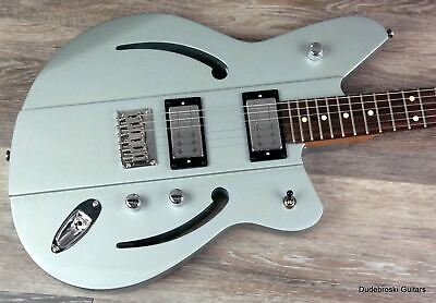 1. Reverend Airsonic RA, Metallic Silver Freeze - Rich, Resonate, Big Tone, Kill