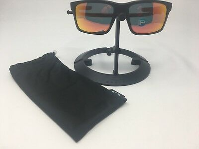 b69704ec1be NEW OAKLEY MAINLINK POLARIZED Sunglasses OO9264-07 Matte Black W ...