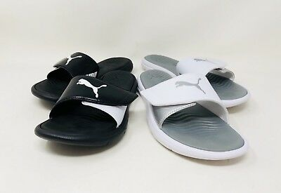 Puma Women's Surfcat Slide On Sandals Pick Color And Size Pre-Owned