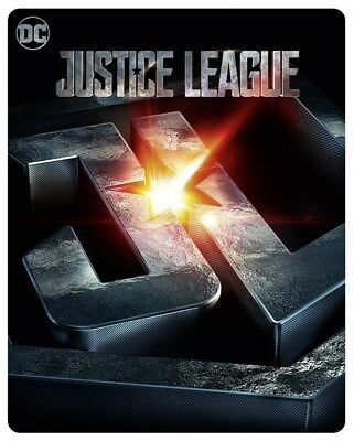 Justice League 3D (2000 ONLY HMV Exclusive Limited Ed Blu-ray Steelbook) [UK]