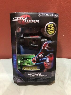 Spy Gear - Special Ops - Ultimate Night Vision Spin Master NOS Shelf Wear