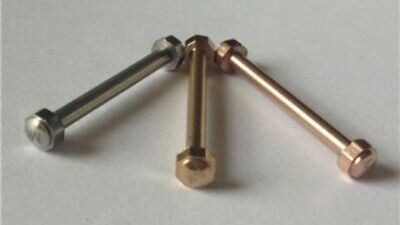 Michael Kors Watch Lug Screw Pins repair for Parker models SILVER Colour screw
