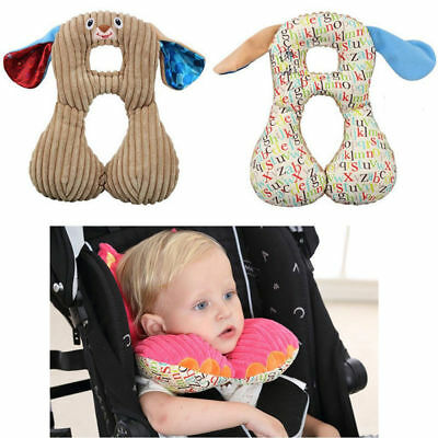 Animal Baby Head Neck Support Protect Headrest Travel Car Seat U Pillow Cushion