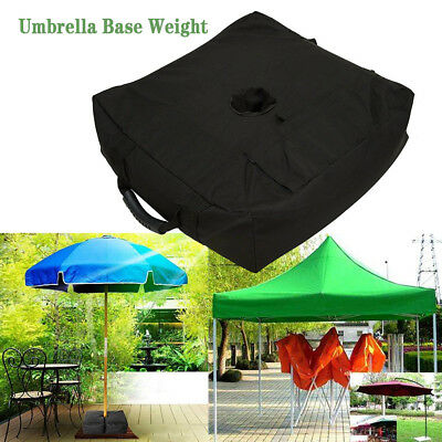 """18"""" Square Umbrella Base Weight Any Offset Outdoor Patio Umbrella Stand Sand Bag"""