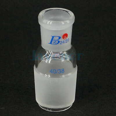 24/29 Female to 40# Male Joint Lab Glass Enlarging Transfer Adapter Glassware