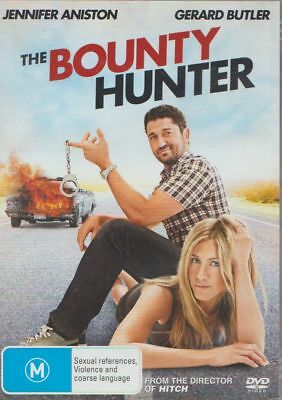 D.v.d Movie  X552   The Bounty Hunter : Jennifer Aniston , Geraed Butler    Dvd