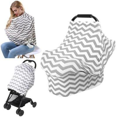 Mother Breast Feeding Covers Nursing Maternity Elastic Outdoor Shawl Towel Scarf