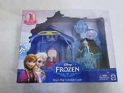 Disney Frozen Elsa Flip n' Switch Castle - MagiClip Fashion Dress Princess Toy