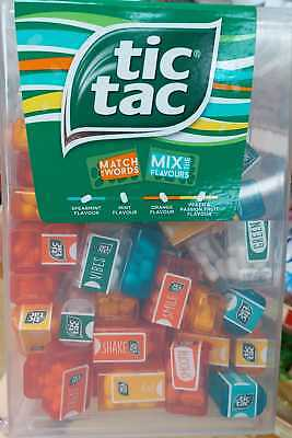 new look tic tac large box with 60 mini packs 60 x 3 8g match words