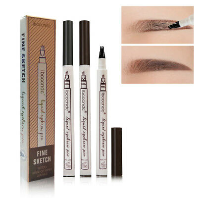 Fine Carving Smudge-proof  Fine Sketch Tattoo Pen Waterproof  Eyebrow Pencil