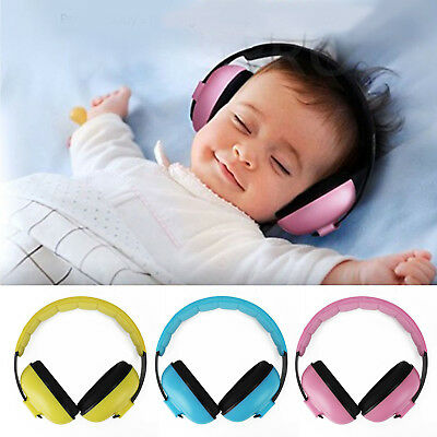 BABY Childs Ear Defenders Earmuffs Protection 3 COLOURS 3months+ Boys Girls