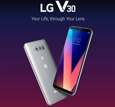 "New *SEALED* T-Mobile LG V30 H932 64GB P-OLED 6.0"" 4G LTE Smartphone 3 COLORS"