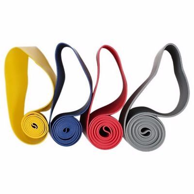 1-4PCS Workout Resistance Bands Loop Set Portable Fitness Yoga Exercise Band BHP
