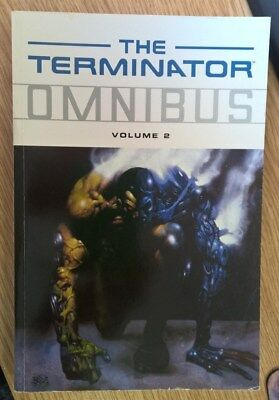 The Terminator Omnibus - Volume 2 - Dark Horse Books Comic Graphic Novel - Used