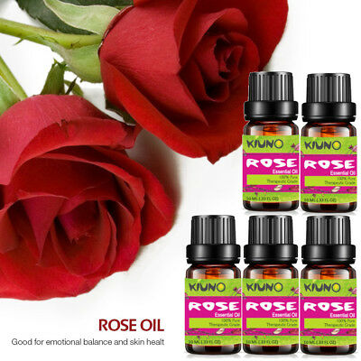 ROSE 10ml Set Rose Essential Oils - 100% Pure & Natural Aromatherapy Skin Care