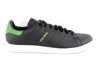 31959c1d6ef18 Adidas Stan Smith 12 Leather Classic Shoes Shoes Sneaker Black Size  Selectable