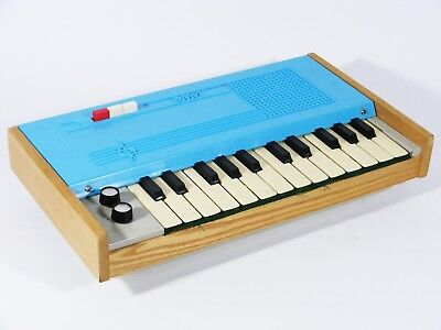 Vintage Russian Small Piano Keyboard Battery Operated