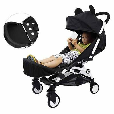 Adjustable Baby Stroller Extension Foot Support Holder Accessories Footrest New