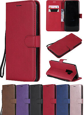 Luxury Powerful Wallet PU Leather Stand Flip Cover Card Slots Case For Samsung