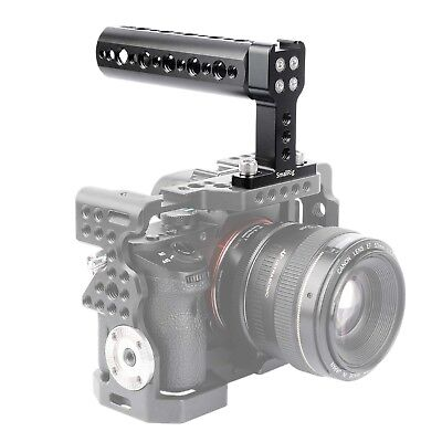 "SmallRig Top Cheese Handle with Cold Shoe & 1/4"" Screw for Camera Cage - 1638 US"