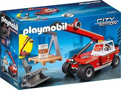 PLAYMOBIL 9465 - City Action - Feuerwehr-Teleskoplader
