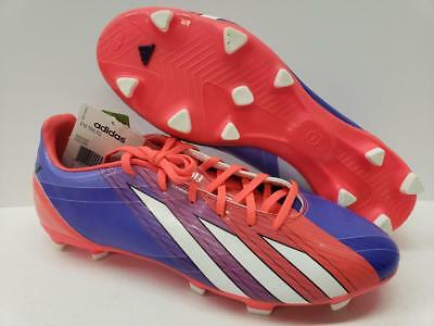43273c46d Adidas G97729 F10 TRX FG Firm Ground Messi Soccer Shoes Cleats Purple Pink  Mens
