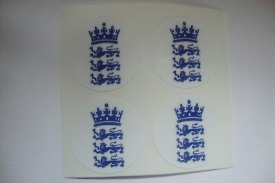 """ENGLAND 3 LIONS  x  16  CROWN GREEN STICKERS  1""""  LAWN BOWLS   AND INDOOR BOWLS"""