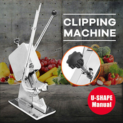 U-shape Sausage Clipping Clipper Sealing Machine Clips Vegetable Sealing Home