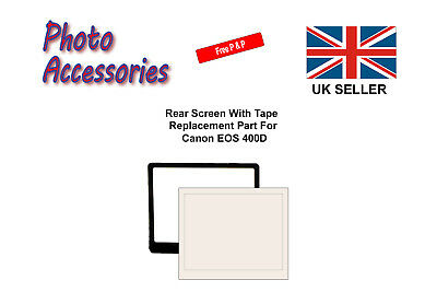 Rear Screen Replacement Part with Tape For Canon EOS 400D