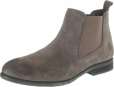 Größen Damen Chelsea Boot In Div Veloursleder Schwarz Apple Of Eden Matilde
