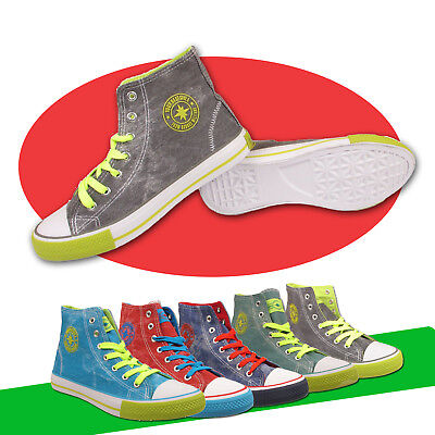 Ladies Ankle Boots Womens Hi Tops Girls Casual Lace Up Trainers Fashion Shoes