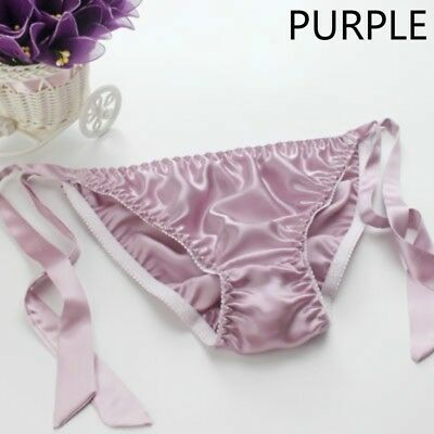 41bd732e79 Lady 100% Pure Natural Silk Knicker Briefs Panty Underwear Lingerie Bandage  Sexy