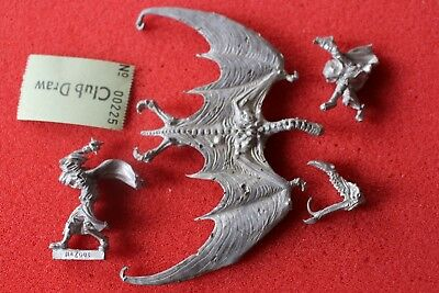 Games Workshop Citadel BME2 Lord of the Rings Nazgul on Winged Beast Complete 85