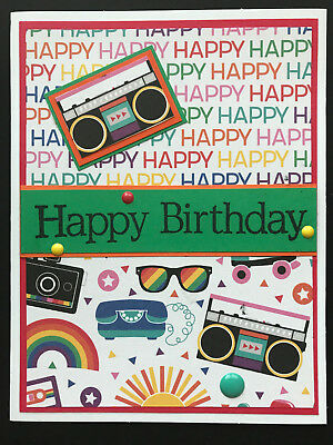 HANDMADE HAPPY BIRTHDAY GREETING CARD Kid Teen