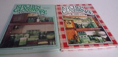 Pr Collectors Guides to Kitchen Glassware of Depression Years 3rd & 6th Ed Good