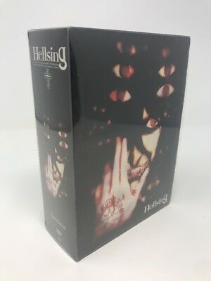 Hellsing Blood Brothers Signature Series DVD Box Set Complete Anime Series