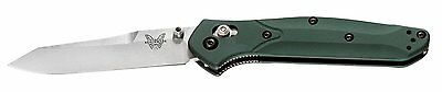 Benchmade 940 Osborne Reverse Tanto Axis Aluminum Plain Edge Folding Knife