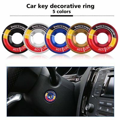 USto Car Key Switch Decoration Ring Styling Decorative Ring Suitable For USdi QW