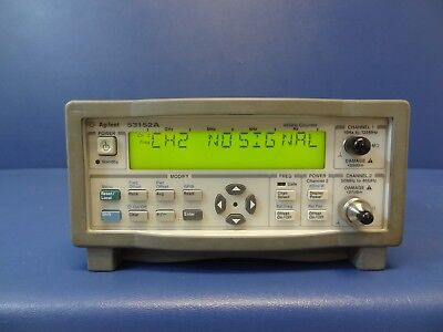 Agilent 53152a 46ghz Microwave Frequency Counter Meter