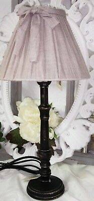 Clayre&eef Lamp Desk Night Table Floor Shabby Vintage Country House 33cm
