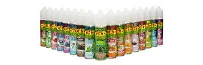 CBD E-LIQUID VAPE 6Oml - 1OOO MG CBD LEAF UK-Supplier All-Flavours + 6 NEW FLAV.