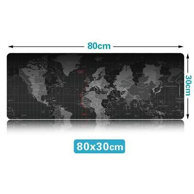 Extra Large Mouse Pad Old World Map Gaming Mousepad Anti-slip