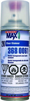 Spraymax 2K Glamour High Gloss Aerosol Clear Spray  3680061