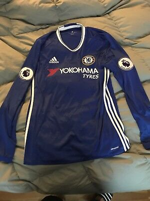 5368d775b 2016 2017 Adidas Chelsea FC Home Jersey New Large LONG SLEEVE FÀBREGAS  4  Size