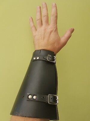 Leather Wrist Bracer Protector,  medieval, archery, carpentery and other trades