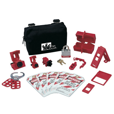 Ideal 44-970 Basic Lockout/Tagout Kit