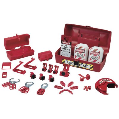 Ideal 44-972 Plant Facility Lockout/Tagout Kit