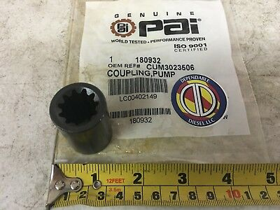 Hydraulic Pump Coupling Sleeve for Cummins 855 N14 PAI 180932 Ref 199589 3023506